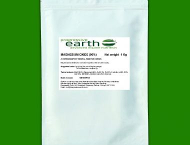 Progressive Earth Magnesium Oxide 90% horse feed supplement
