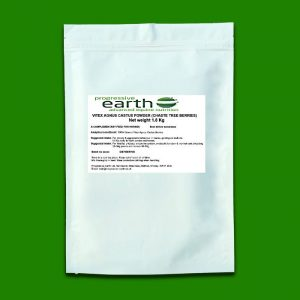 Progressive Earth Vitex Agnus Castus powder for equine pituitary and hormonal health. Calms moody mares and riggy geldings.