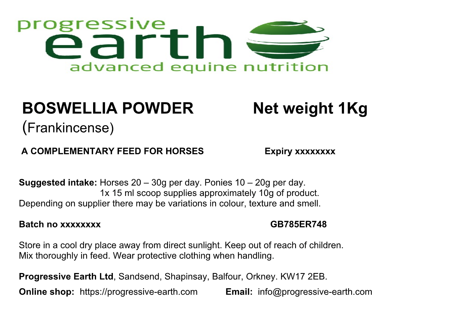 BOSWELLIA SERRATA POWDER (Frankincense) for joint support, digestive health  and a healthy respiratory system