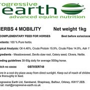 Herbs4Mobility blend of herbs for horse and pony health