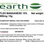 Progressive Earth Bioplex Manganese Label