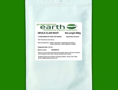 Progressive Earth Devil's Claw Root (cut) for horse joint stiffness and mobility