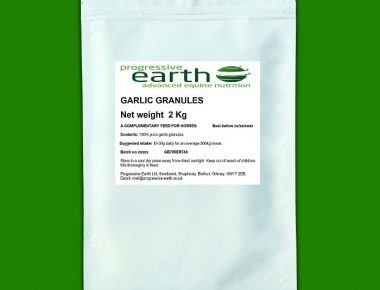 Progressive Earth Garlic Granules for horses and ponies