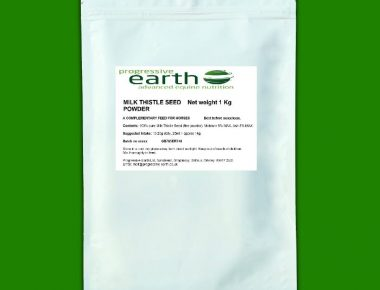 Progressive Earth Milk Thistle powder powerful equine antioxidant