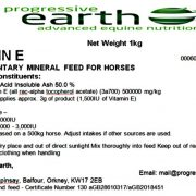 Vitamin E is a powerful antioxidant for horses and ponies. Immune system support for equines.